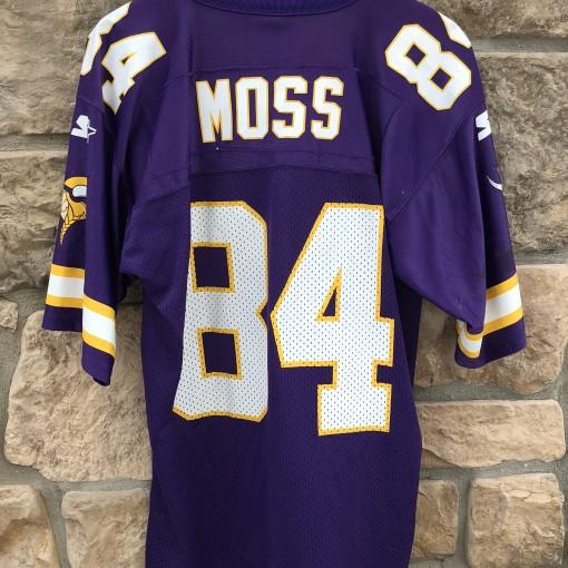 vintage 90's Randy Moss Minnesota Vikings Starter NFL rookie jersey size 46 Medium