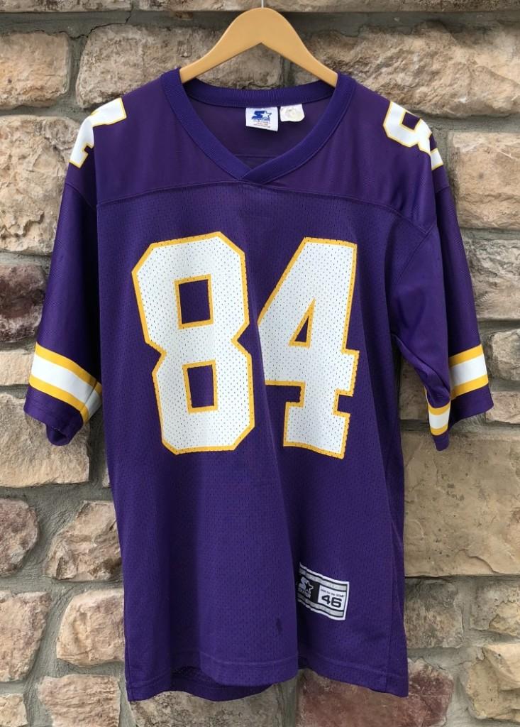 finest selection af00a 15f63 1998 Randy Moss Minnesota Vikings Starter NFL Jersey Size Medium
