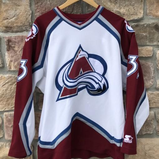 90's Patrick Roy Colorado Avalanche Starter NHL jersey size Large
