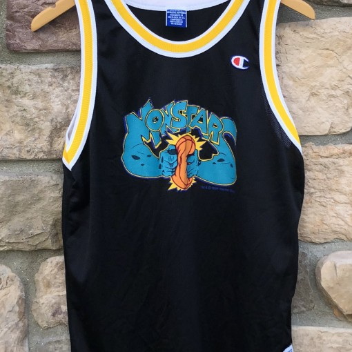1996 Monstars Space jam champion basketball jersey youth size xl