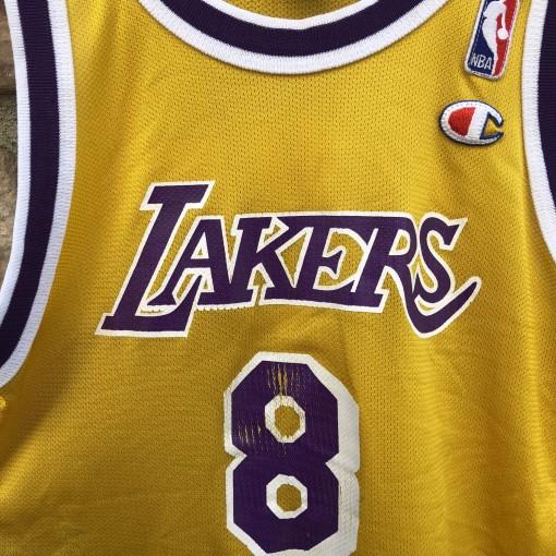 1996 Kobe Bryant Los Angeles Lakers Champion NBA jersey youth size Medium
