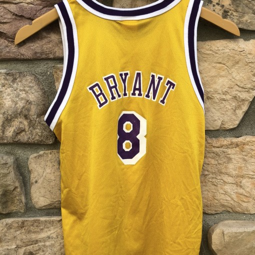 1996 Kobe Bryant Los Angeles Lakers Champion NBA jersey youth size Medium