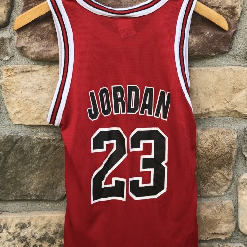 1996 Michael Jordan Chicago Bulls vintage Champion NBA jersey youth size medium