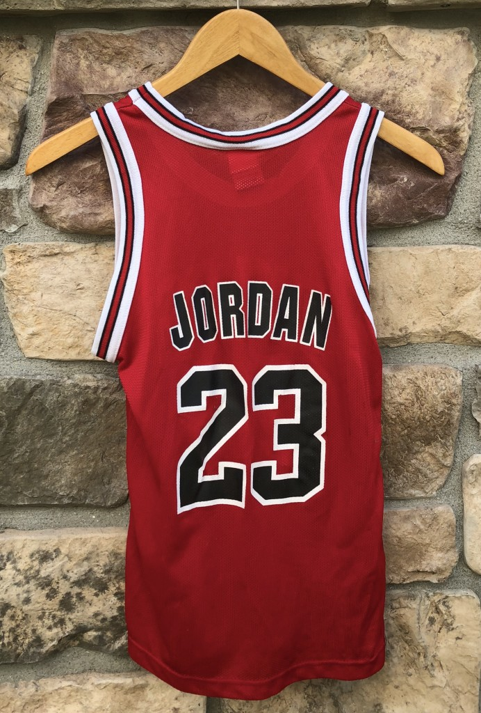 the best attitude 45a42 bba1b 1996 Michael Jordan Chicago Bulls Champion NBA Jersey Youth Medium