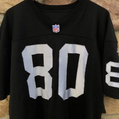 2001 Jerry Rice Oakland Raiders authentic Reebok NFL jersey size 46 large helmet tag