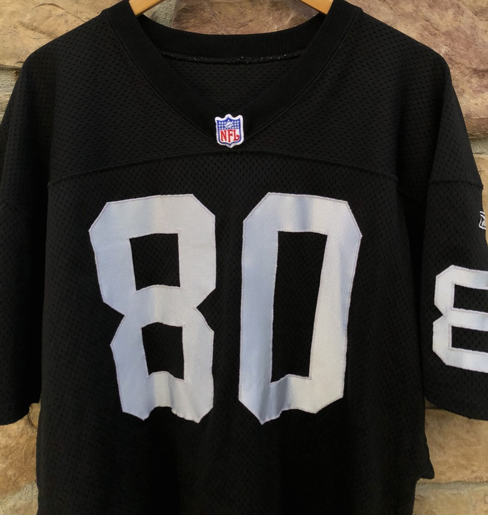 sale retailer 68d46 40502 2001 Jerry Rice Oakland Raiders Reebok Authentic NFL Jersey Size 46