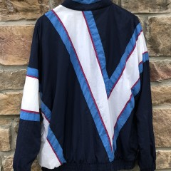 90's Villanova Wildcats vintage Apex One NCAA windbreaker jacket size large team issued