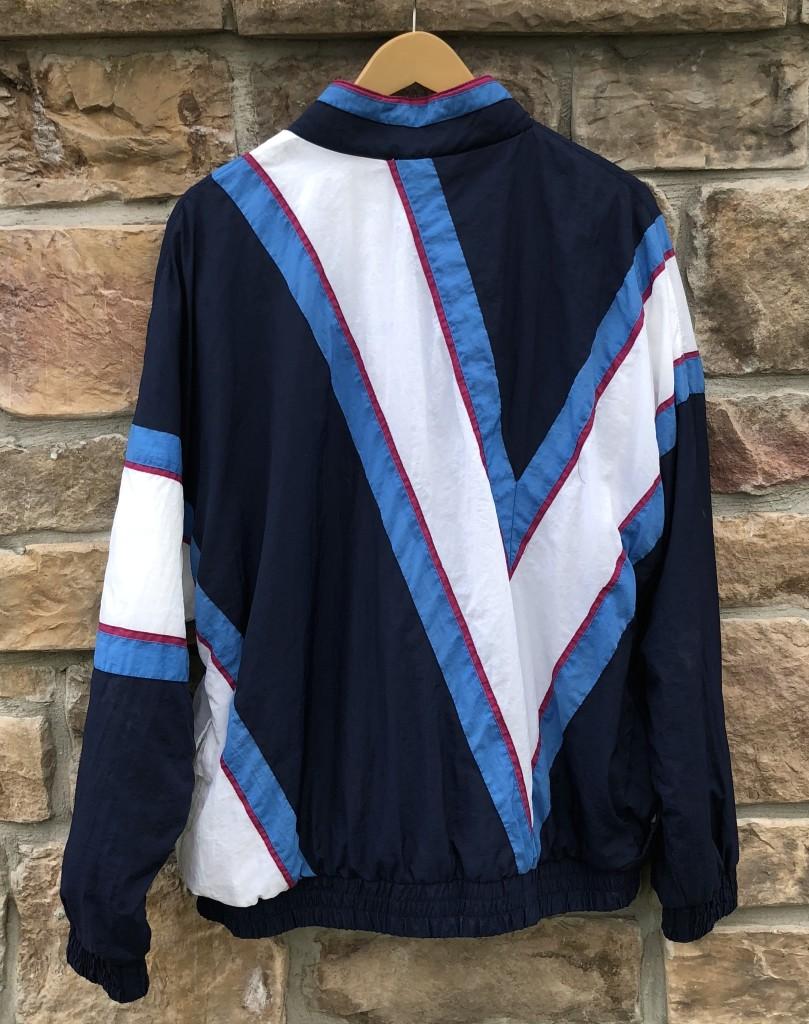 4c72e3efc 90's Villanova Wildcats vintage Apex One NCAA windbreaker jacket size large  team issued