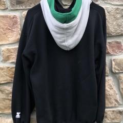 90's Philadelphia Eagles Starter Double hooded sweatshirt size large