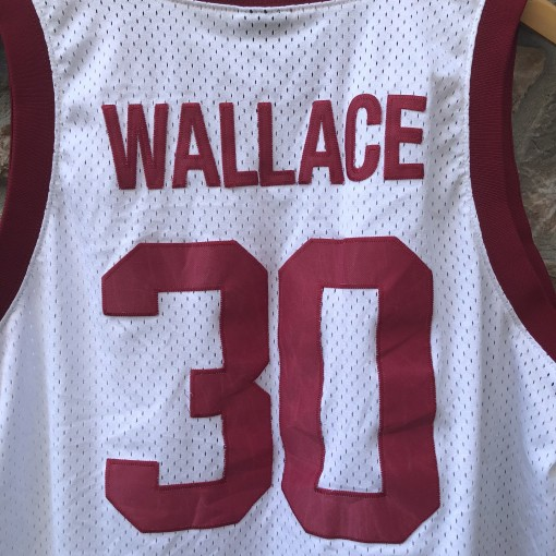 1993 Simon Gratz Rasheed Wallace Nike swingman jersey size Large