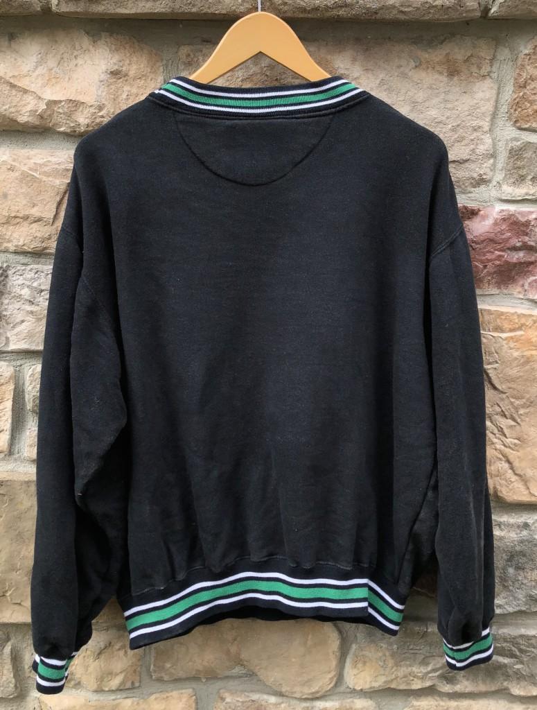 627dc0100 90 s Philadelphia eagles logo athletic vintage kelly green nfl crew neck  sweatshirt size medium