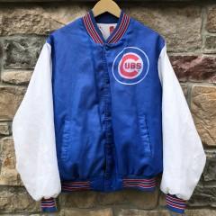 vintage 90's Chicago Cubs Chalkline Fanimation MLB jacket size Large