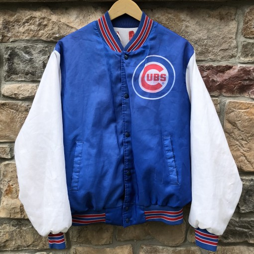 vintage 90's Chicago Cubs Chalkline Fanimation MLB jacket size Large