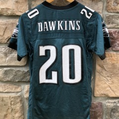 2004 Brian Dawkins Philadelphia Eagles reebok NFL jersey youth size small