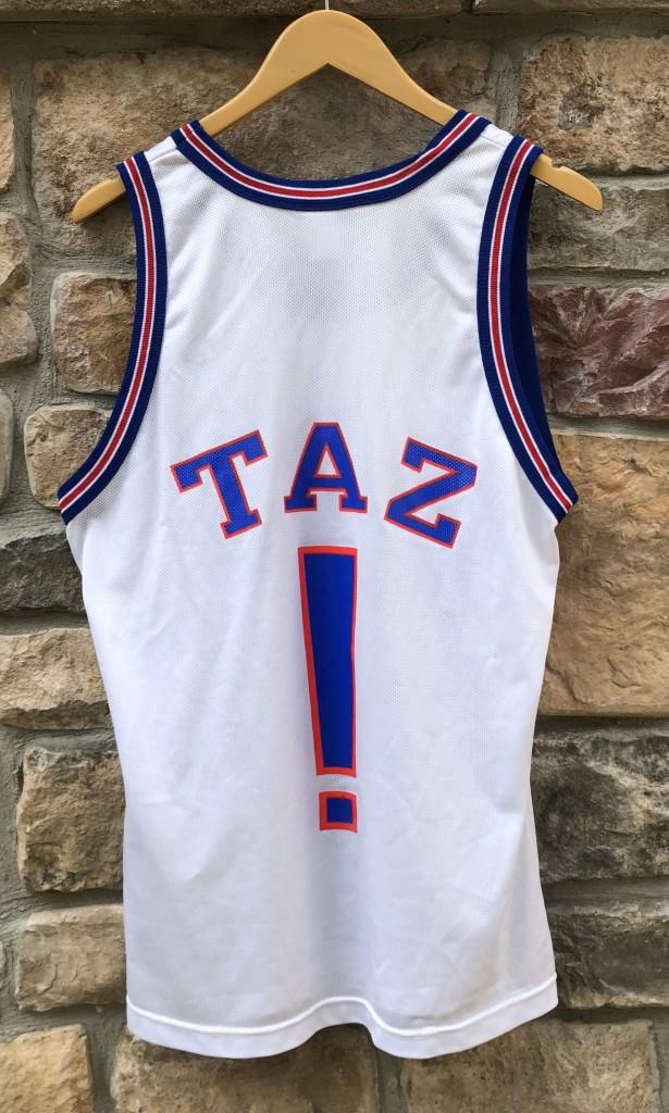 7ff94120b73 1996 Tune Squad Space Jam Champion Basketball Jersey Tax ! size 40 medium