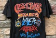 1990 Clash of the titans Anthrax Megadeath alice in chains slayer concert t shirt size medium