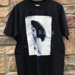 1997 Diana Ross Power Of love world tour concert t shirt screen stars size large