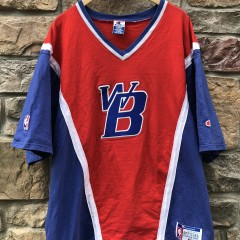 90's Washington Bullets Authentic Champion Shooting Shirt size XL NBA