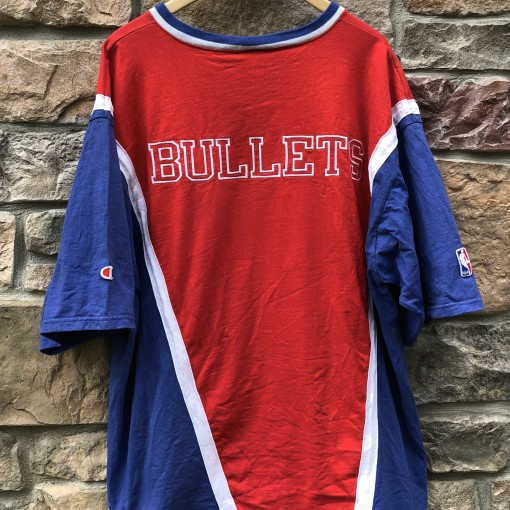 90's Washington Bullets Authentic Champion Shooting Shirt size XL NBA