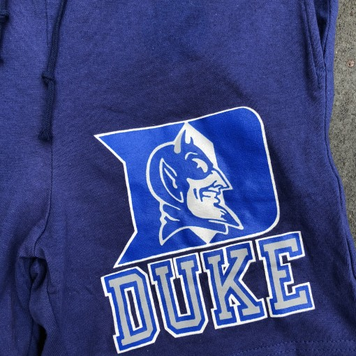vintage 90's Duke Blue Devils Champion Brand NCAA Shorts size medium