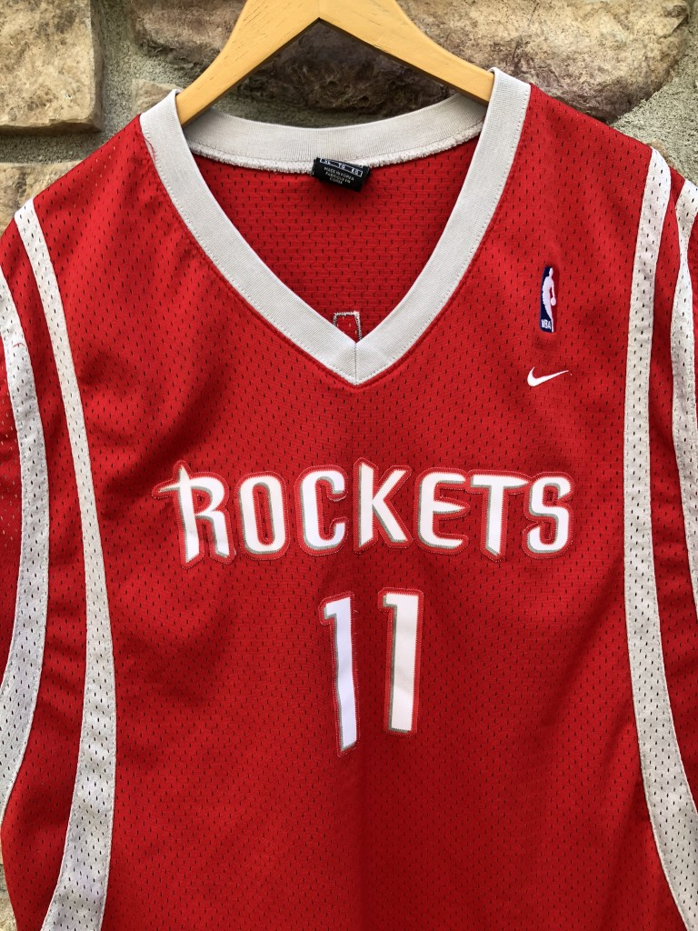 super popular 611ec 63432 2004 Yao Ming Houston Rockets Nike Swingman NBA Jersey Size XL