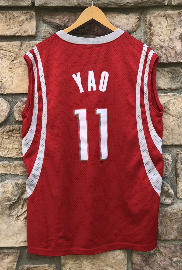 a14e377d94e 2004 Yao Ming Houston Rockets Nike Swingman NBA Jersey Size XL ...