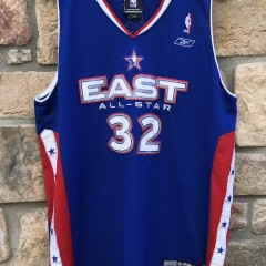 2005 Shaquille Shaq O'neal Eastern Conference NBA All Star Jersey size large Reebok Miami Heat