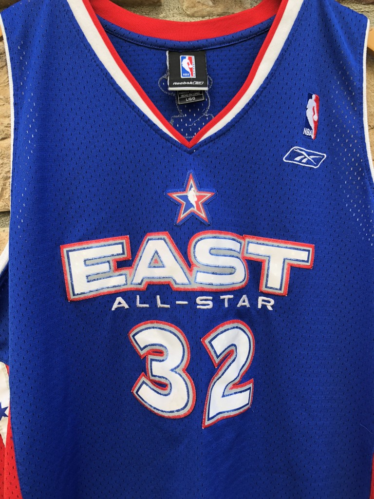 9b5951036499 2005 Shaquille Shaq O neal Eastern Conference NBA All Star Jersey size  large Reebok Miami