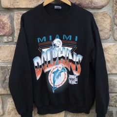 1995 Miami Dolphins Monday Night Football NFL crew neck sweatshirt vintage size large
