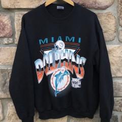 1995 Miami Dolphins Monday Night Football NFL crew neck sweatshirt vintage size large