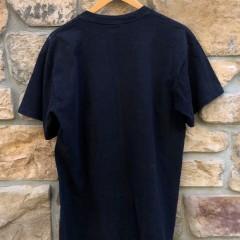 90's Deion Sanders Nike Black & blue football baseball t shirt size XL