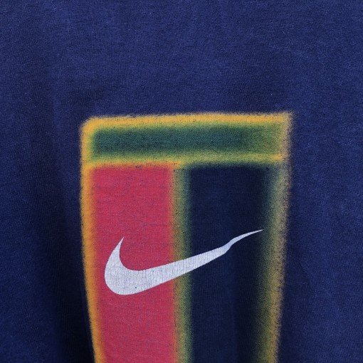 90's Nike Challenge Court T shirt navy size medium andre agassi