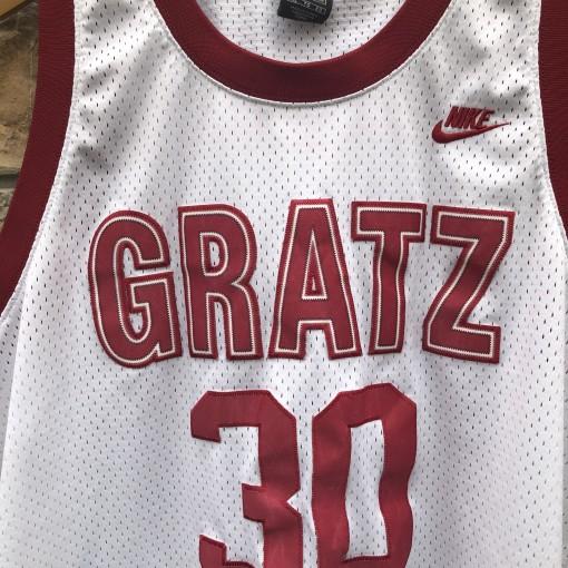 1993 Simon Gratz Rasheed Wallace Nike TAG swingman jersey size XL