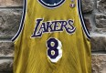 1998 Champion Kevin Garnett Minnesota Timberwolves Kobe Bryant Los Angels Lakers reversible NBA jersey size 44 large