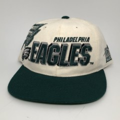 90's Philadelphia Eagles Sports Specialties Shadow draft day NFL snapback hat