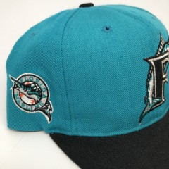 90's Florida Marlins American Needle blockhead MLB snapback hat