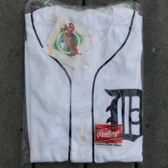 deadstock vintage early 90's Detroit Tigers Rawlings MLB jersey authentic diamond collection size 44 large