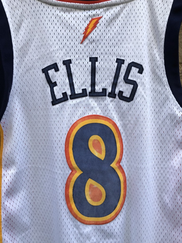3c877eff2 2009 Monta Ellis Golden State Warriors Adidas NBA swingman jersey size  medium
