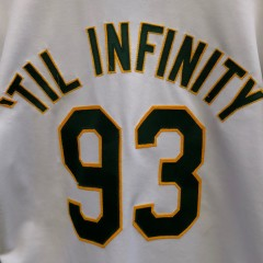 custom vintage authentic Oakland Athletics A's 93 til infinity Souls of Mischief rare Vntg jersey