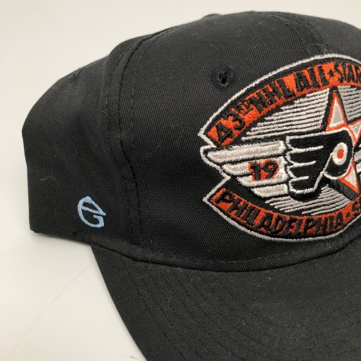 1992 43rd NHL All Star Game Philadelphia Flyers NHL Snapback hat deadstock  black