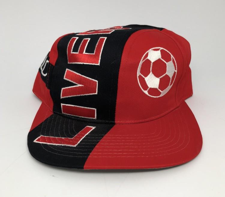 74eba68ab101b vintage Liverpool Football Club Anfield Stadium Big logo snapback hat