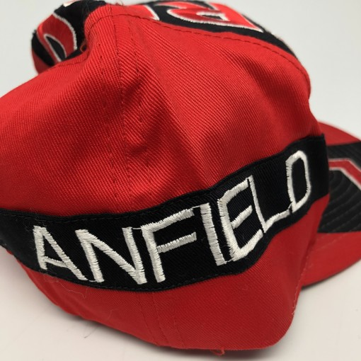 vintage Liverpool Football Club Anfield Stadium Big logo snapback hat