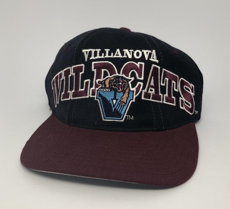 133db6963aa93 vintage 90 s Villanova University Wildcats Starter Tri Power NCAA snap back hat  deadstock