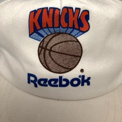 vintage 80's New York Knicks Reebok NBA Snapback hat