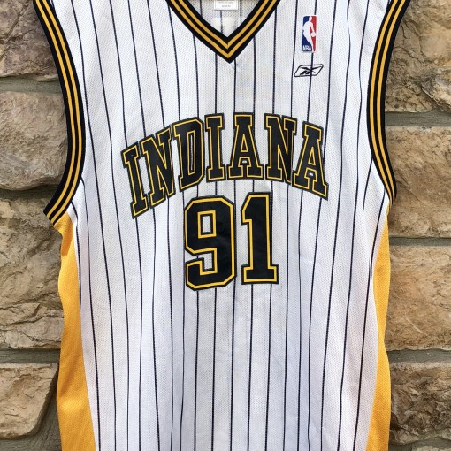 2004 Ron Artest Indiana Pacers Reebok NBA Jersey size medium