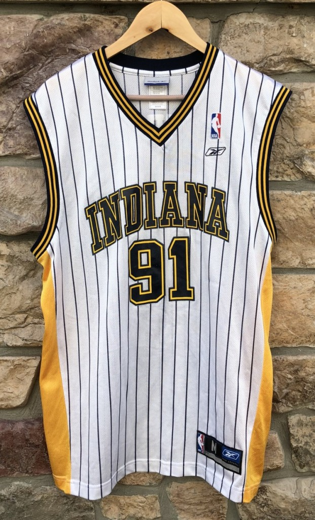 on sale d530c 09eeb 2004 Ron Artest Indiana Pacers Reebok NBA Jersey Size Medium