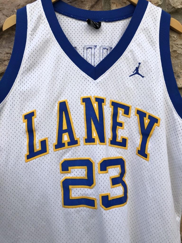 promo code 19f92 cf005 1980 Michael Jordan Laney High School Nike Swingman Jersey Size XL