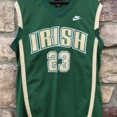 2003 St. Vincent St. Mary's Irish LeBron James Nike talented & gifted swingman jersey size medium