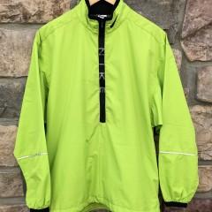 90's Nike Neon Lime Green windbreaker jacket size Medium supreme style