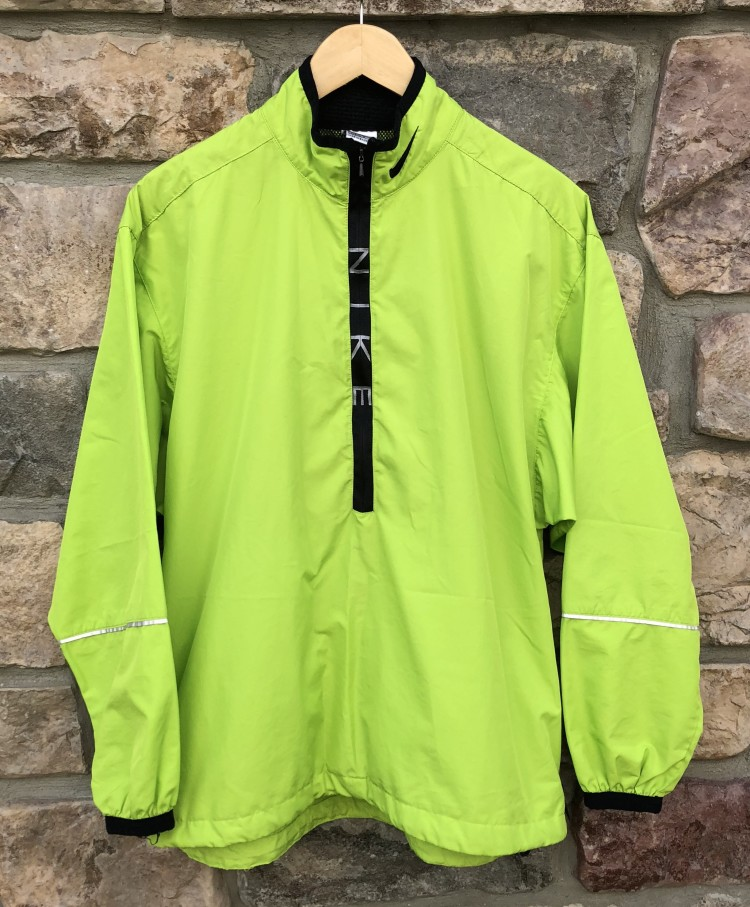 c3da2a717cb7 90 s Nike Neon Lime Green windbreaker jacket size Medium supreme style